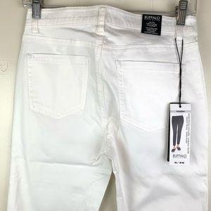 Buffalo David Bitton Jeans - BUFFALO DAVID BITTON White Ankle Skinny Pants-2